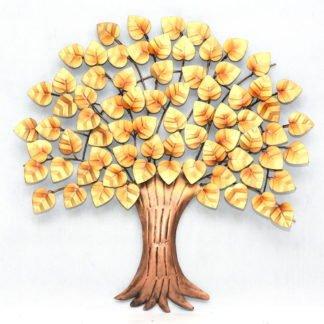 Sonal złote metalowe drzewo 92 x 92